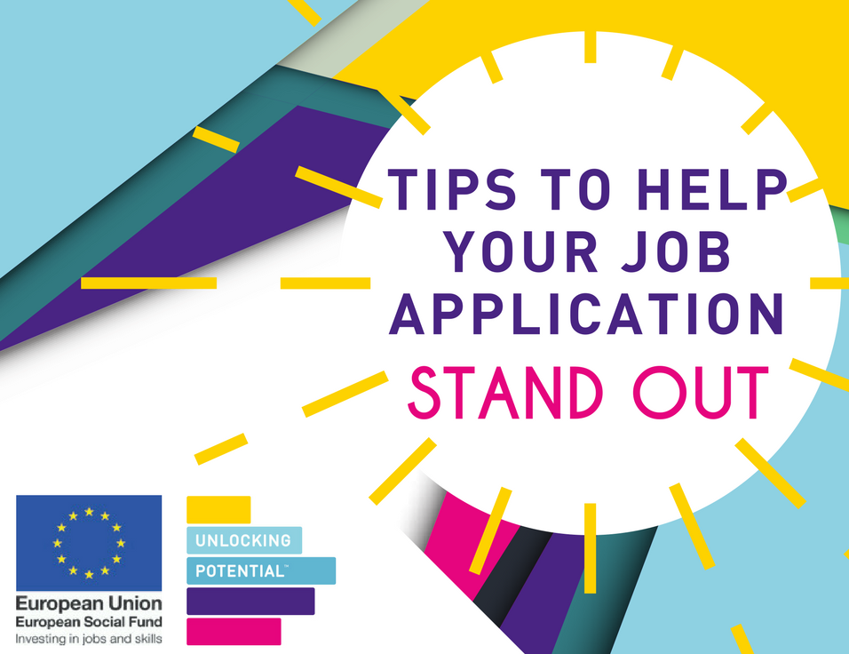 Tips tp help your job application stand out