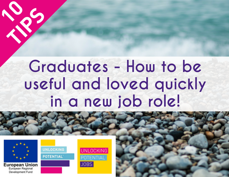 Graduates - How to be useful and loved quickly in a new job role!