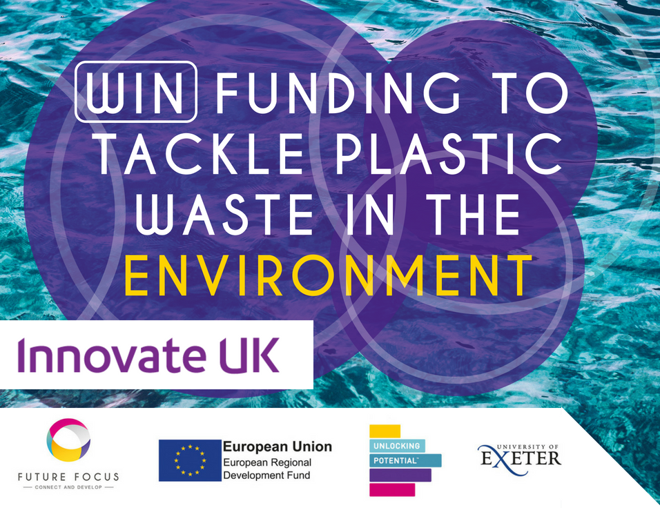 Win funding to tackle plastic waste in the environment with Innovate UK