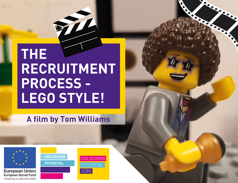 Lego stop motion video by Tom Williams