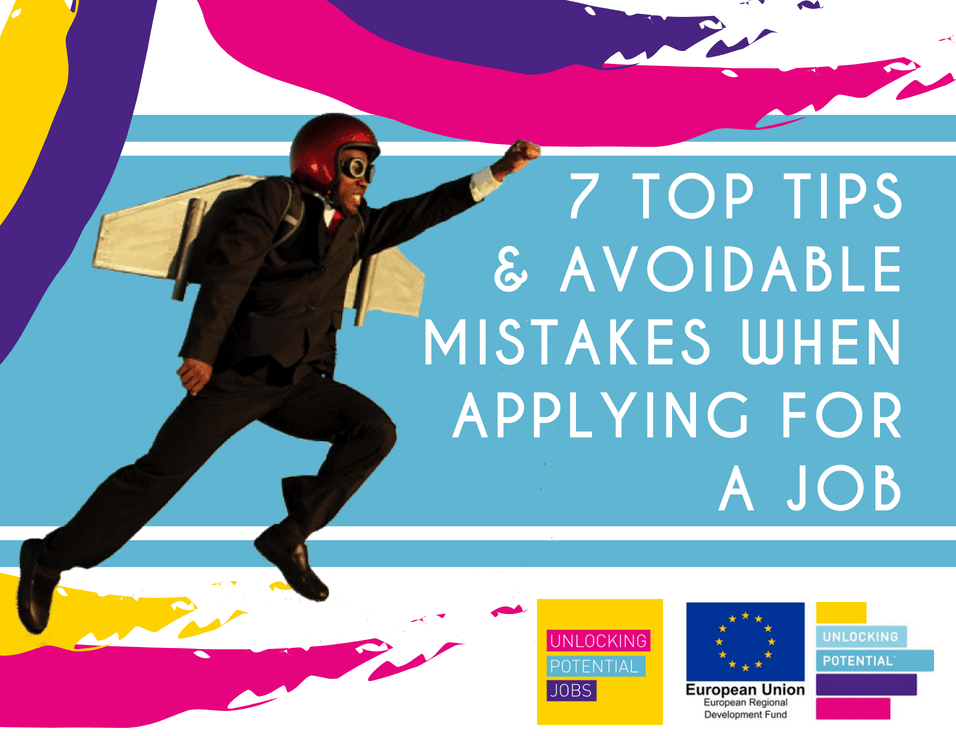 Unlocking Potential Tips and Avoidable Mistakes When Applying for a Job