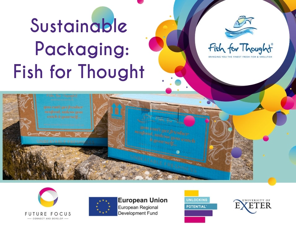 Fish for Thought are the first and only Online Seafood Business to deliver in fully-recyclable packaging!