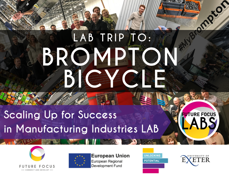 As part of our Future Focus programme, last week, we took a delegation of 15 to London to visit Brompton Bicycle HQ the renowned British manufacturer in London, The Museum of brands and Fullers Brewery. The trip was part of the first Lab in the series 'Scaling Up for Success in Manufacturing Industries'