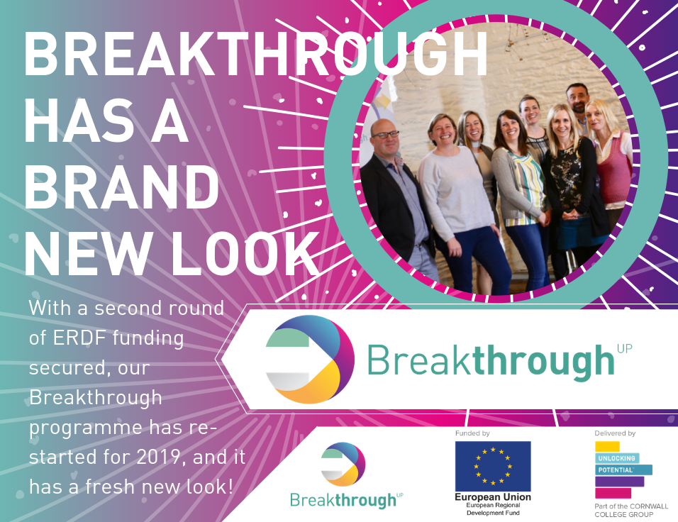 Breakthrough has a brand new look