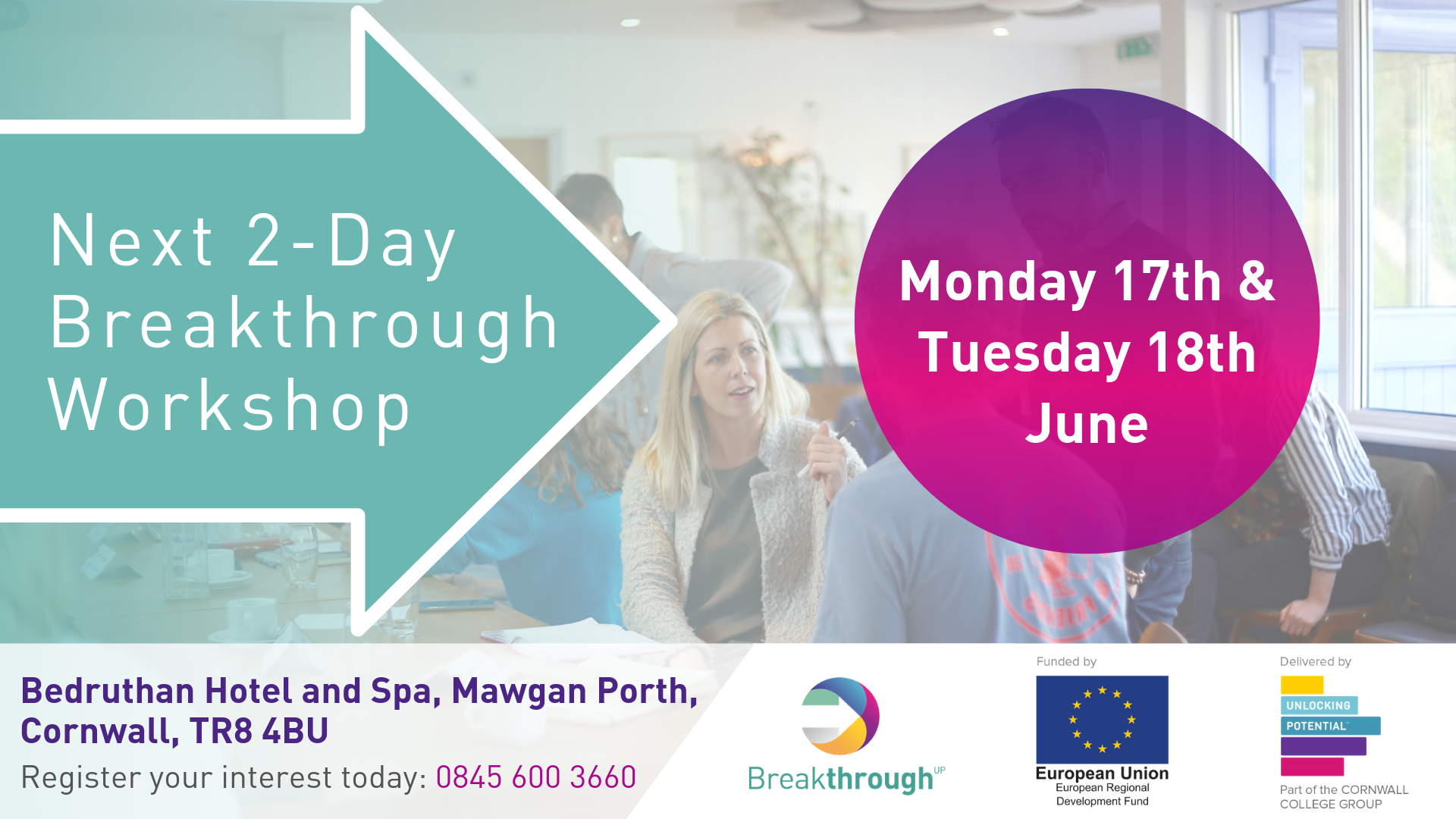 Breakthrough workshop June
