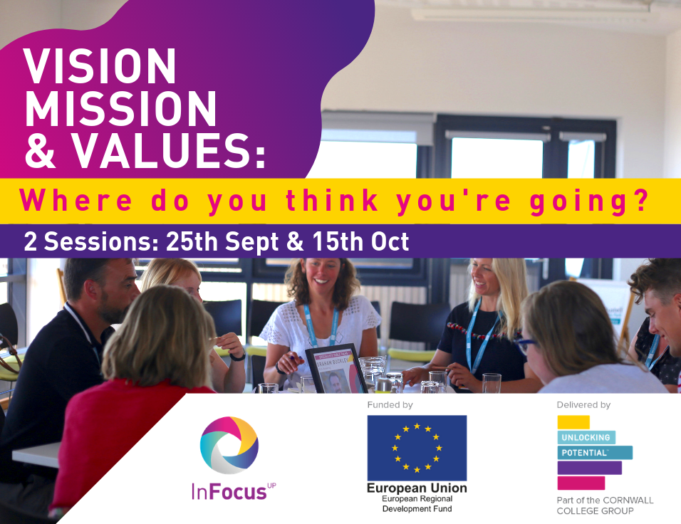 Vision, mission and values: where do you think you're going? Infocus