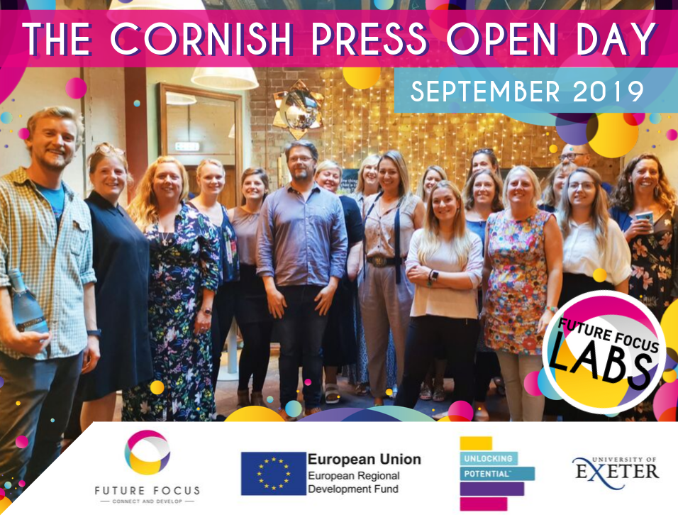 The Cornish Press Open Day - September 2019 edition