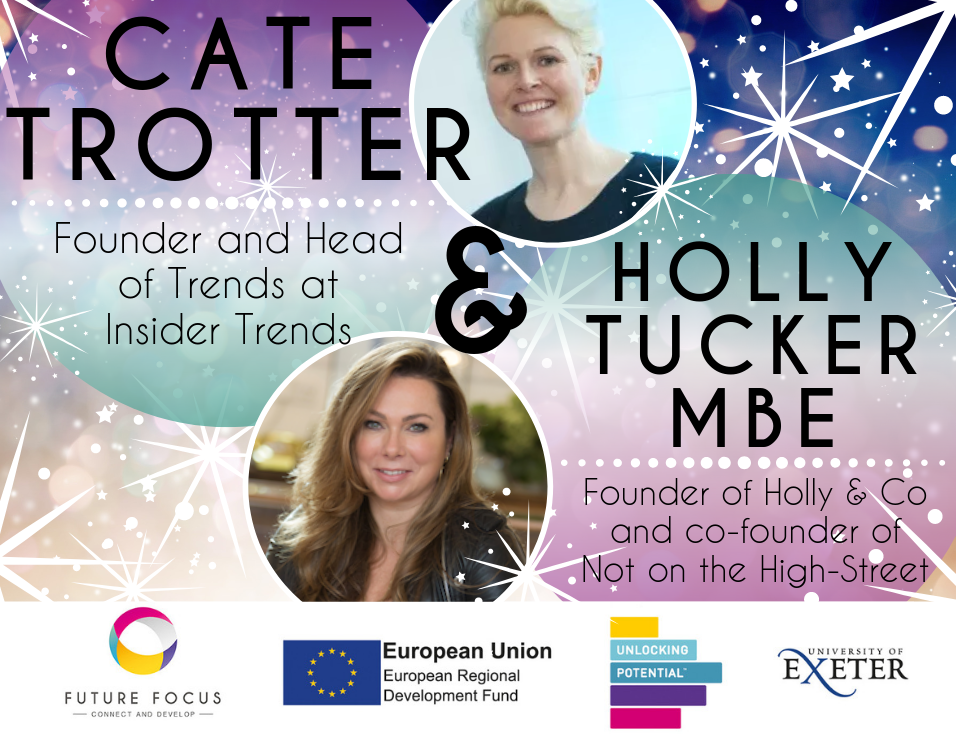 Holly Tucker and Cate Trotter