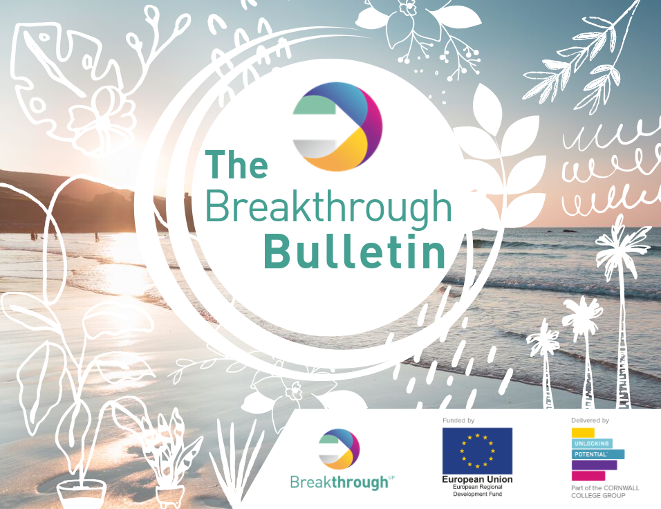 Breakthrough is for ambitious new and early stage businesses who have taken the leap and are building momentum. Grow your confidence, credibility and opportunity with a programme shaped around you.