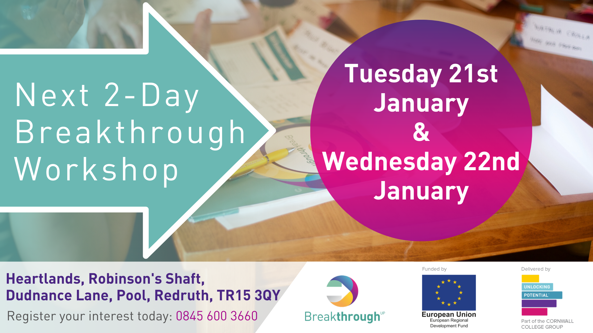 Breakthrough 2-day workshop