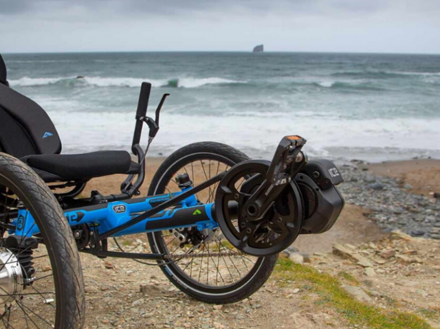 Ice Trikes by the sea