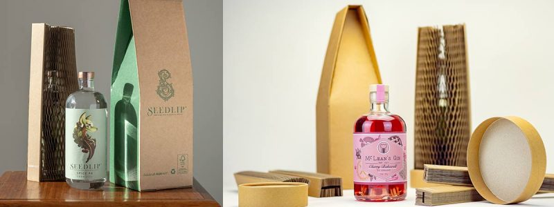Alcohol and packaging by Flexi Hex